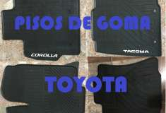 TOYOTA PISOS DE GOMA - foto